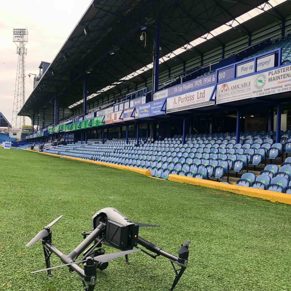 Drone Portsmouth FC